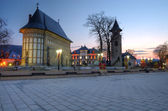 Piatra Neamt, Royal Court — Stock Photo