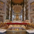 Bernini's Baldacchino — Stock Photo