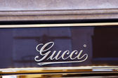 Gucci luxury shop — Stock Photo