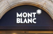Montblanc luxury brand — Stock Photo