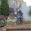 Enduro burnout — Stock Photo