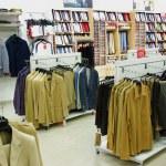 Men clothes in shop — Stock Photo #38604471