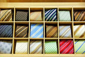 Necktie shop — Stock Photo