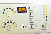 Washing machine panel — Stock Photo