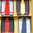 Necktie and shirts — Stock Photo