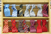 Necktie shop — Stockfoto