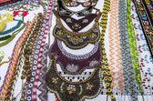 Souvenir shop: neck accesories — Stock Photo