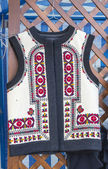 Romanian traditional vest — Stock Photo