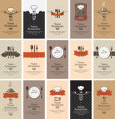Food beverages — Vector de stock