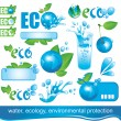 Ecology and the Environment — Stock Vector