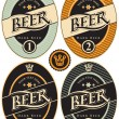 Labels for beer - Stock Vector