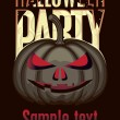 Halloween party — Image vectorielle