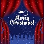 Weihnachten Märchen — Stockvektor