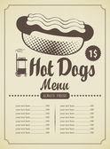 Hot-dogs — Vecteur