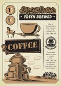 Coffee theme — Stock Vector