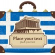 Greece and the Acropolis — Stock Vector