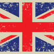 Britain flag - Stock Vector