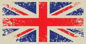 Britain flag — Stock Vector