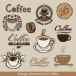 Coffee theme — Stock Vector