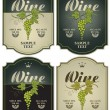 Royalty-Free Stock Vectorafbeeldingen: Labels for wine