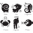 Royalty-Free Stock Vectorafbeeldingen: Signs of the zodiac