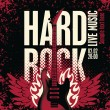 Hard rock - Stock Vector