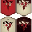 Royalty-Free Stock Vektorgrafik: labels for wine