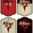 Royalty-Free Stock Imagen vectorial: labels for wine