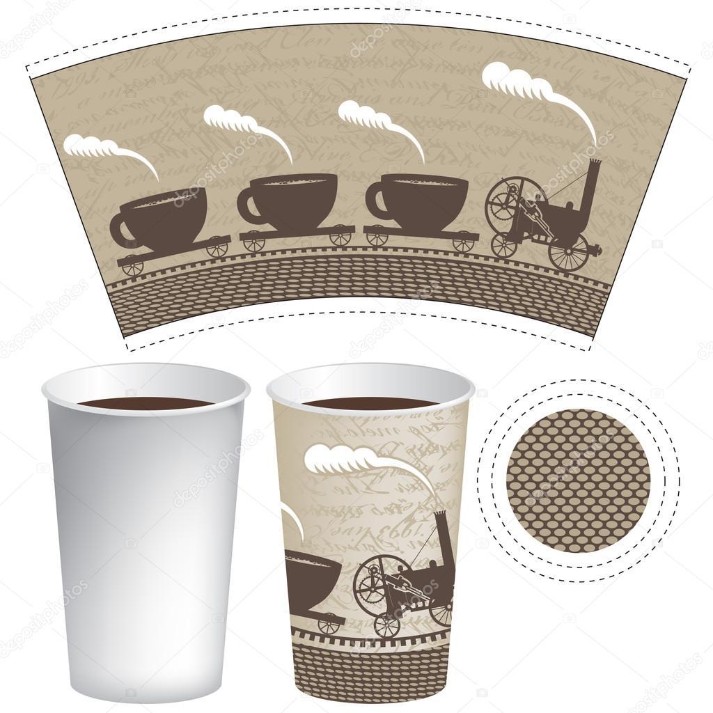Displaying 19> Images For - Coffee Mug Template Illustrator...