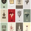 Royalty-Free Stock Vector Image: Set of Wine