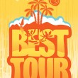 Best tours — Stock Vector #24575589