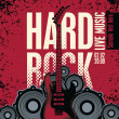 Hard rock — Vetorial Stock