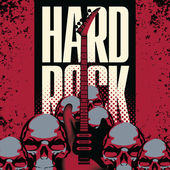 Hard rock — Stock Vector