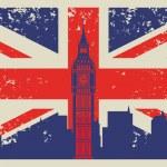 Britain flag — Stock Vector #27082249