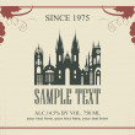 Wine label — Stock Vector #27607829