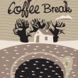 Coffee dream — Vector de stock