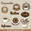 Coffee design element — Stock Vector