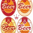 Beer labels — Stock Vector #30583923