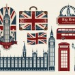 Stock Vector: London set