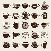 Cup set — Vector de stock