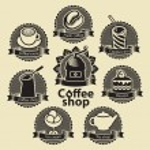 Coffee and tea shop — Stock Vector #32385931