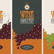 Wine labels — Stock Vector #35423553