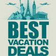 Vacation deals — Stock Vector #40300111
