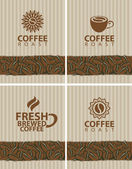 Coffee collection — Stock Vector