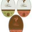 Labels for wine — Stock Vector #44526607