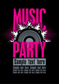 Musical party — Stock Vector