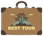 Best tour — Stock Vector