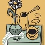 Coffee still life — Stock Vector #51218861