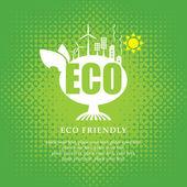 Eco banner — Stock Vector
