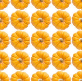Pumpkin Seamless Background — Stock Photo